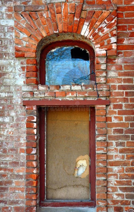 σχηματισμένο αψίδα παράθυ&rho στοκ εικόνες με δικαίωμα ελεύθερης χρήσης