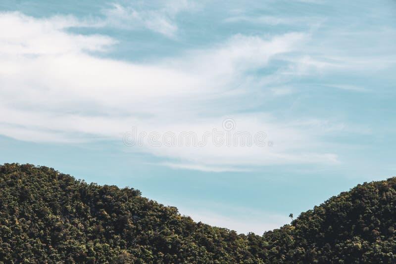 Σχηματισμοί βράχου και νησιών στο Κόλπο της Ταϊλάνδης στοκ εικόνα με δικαίωμα ελεύθερης χρήσης
