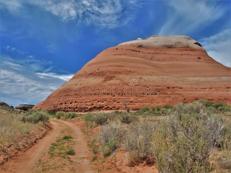 Σχηματισμοί βράχου στο εθνικό πάρκο αψίδων στη Γιούτα στοκ φωτογραφίες