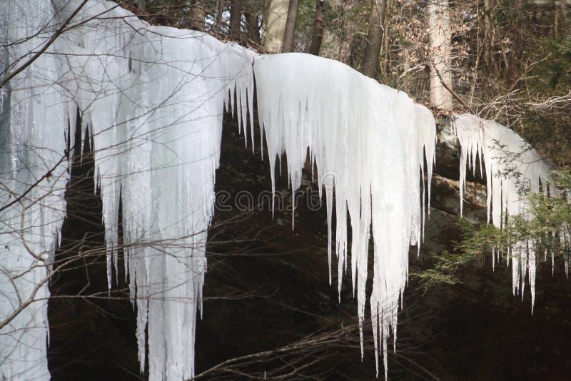 Σχηματισμοί πάγου στοκ εικόνες