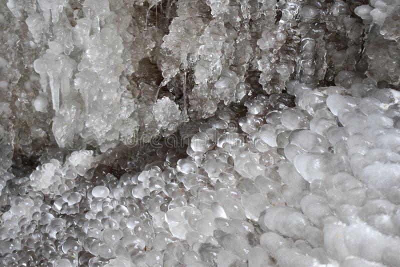 Σχηματισμοί πάγου στοκ εικόνα
