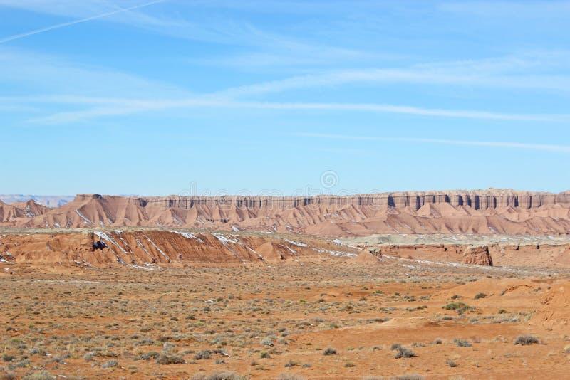 Σχηματισμός βράχου στην έρημο SAN Rafael, Γιούτα στοκ φωτογραφία με δικαίωμα ελεύθερης χρήσης