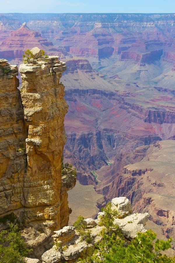 Σχηματισμός βράχου στο μεγάλο φαράγγι στοκ εικόνα με δικαίωμα ελεύθερης χρήσης