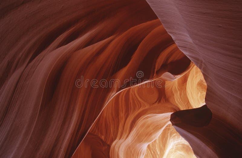 Σχηματισμός βράχου φαραγγιών ΑΜΕΡΙΚΑΝΙΚΩΝ Αριζόνα αντιλοπών στοκ εικόνες