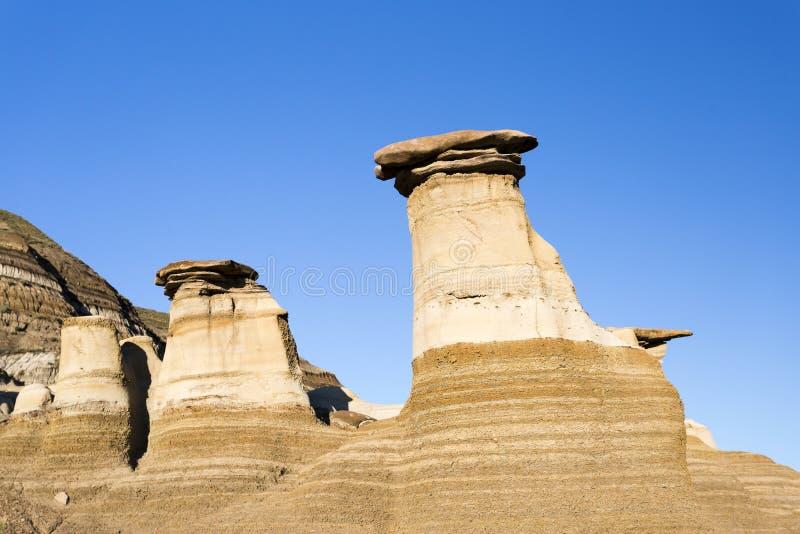 Σχηματισμός βράχου Hoodoo στοκ φωτογραφία με δικαίωμα ελεύθερης χρήσης