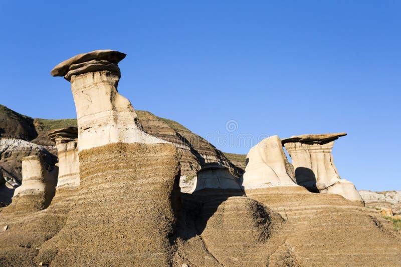 Σχηματισμός βράχου Hoodoo στοκ φωτογραφίες