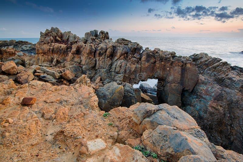 Σχηματισμός βράχων σε Καλιφόρνια στοκ εικόνα