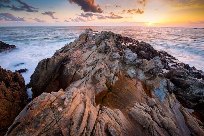 Σχηματισμός βράχων σε Καλιφόρνια στοκ εικόνες