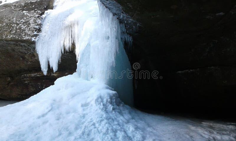 Σχηματισμός πάγου στοκ εικόνες
