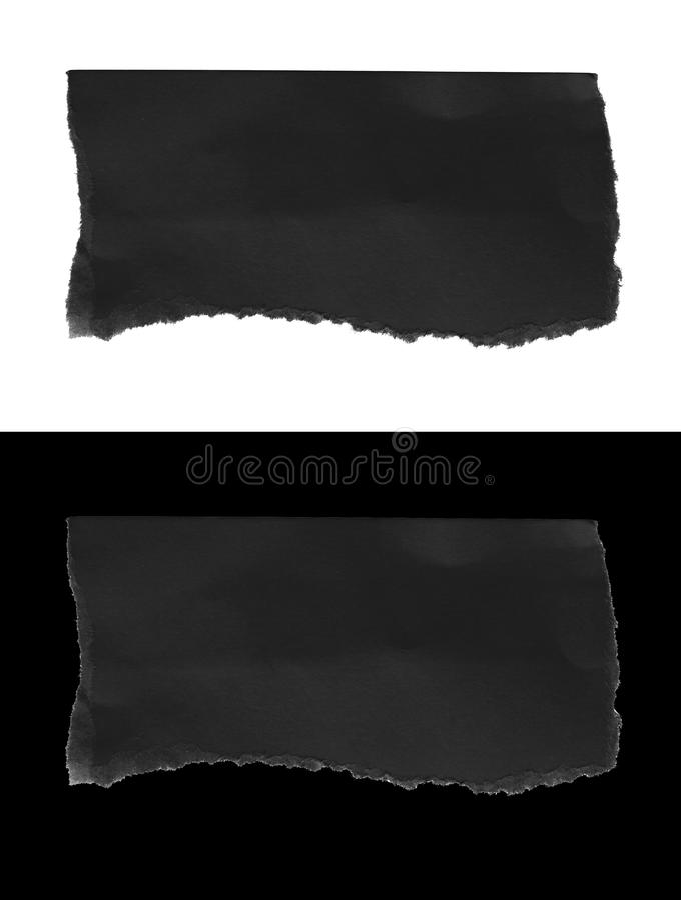 Σχισμένος σχίστε το έγγραφο στοκ φωτογραφίες