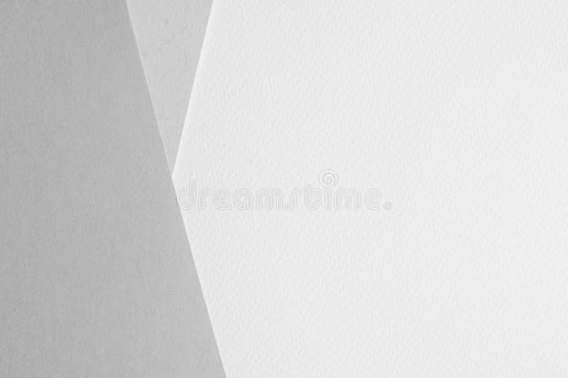 Σχισμένο έγγραφο για άσπρο χαρτί watercolor γραπτό στοκ φωτογραφία με δικαίωμα ελεύθερης χρήσης