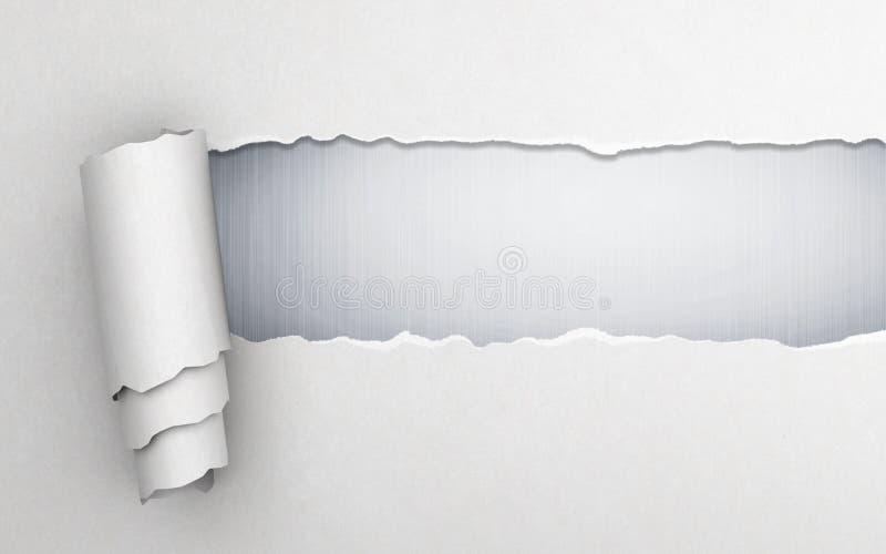 Σχισμένο έγγραφο απεικόνιση αποθεμάτων