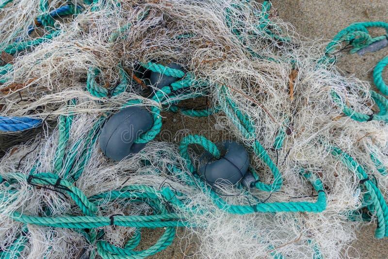 Σχοινί και ψάρια καθαρά στοκ εικόνες