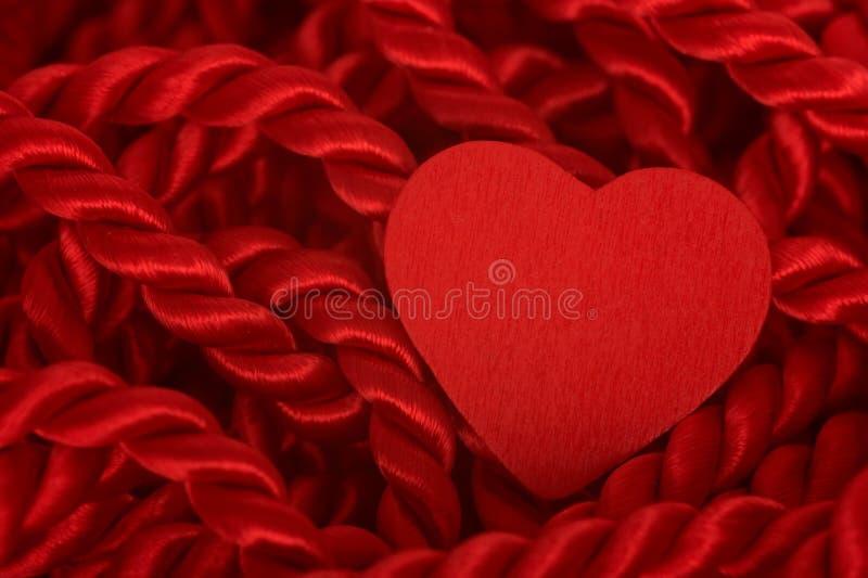 σχοινί καρδιών στοκ εικόνα με δικαίωμα ελεύθερης χρήσης