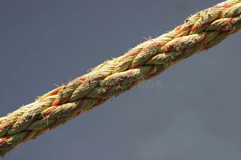 σχοινί τεντωμένο στοκ φωτογραφία με δικαίωμα ελεύθερης χρήσης