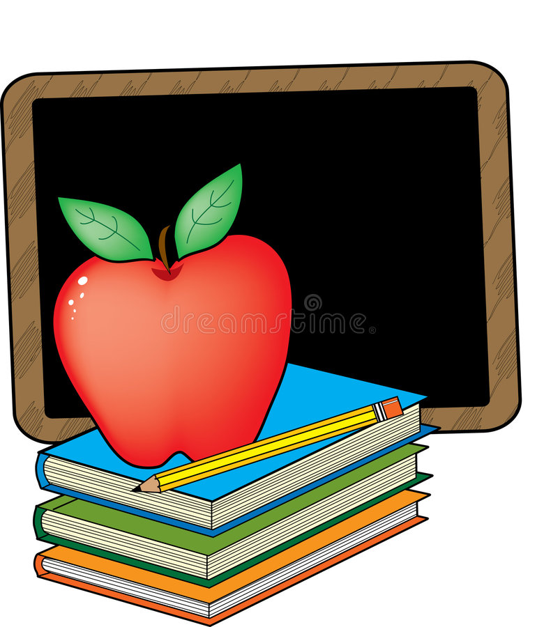 σχολείο βιβλίων απεικόνιση αποθεμάτων