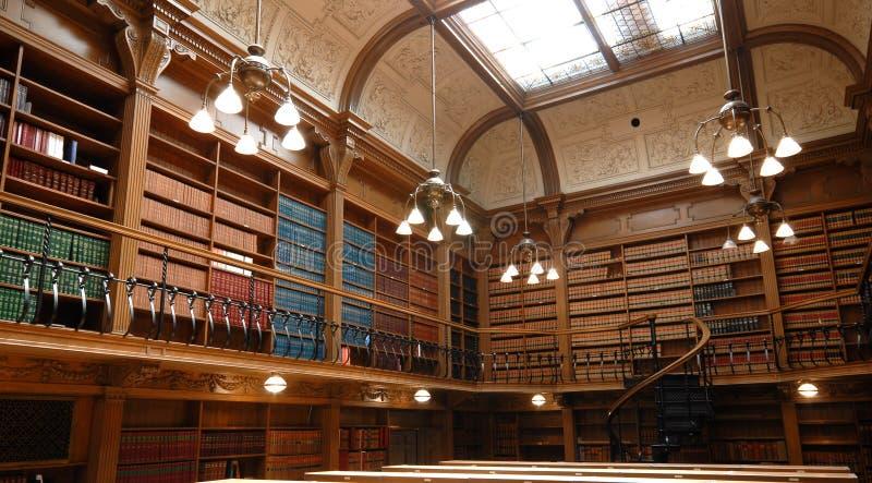 σχολείο βιβλιοθηκών νόμου στοκ εικόνα