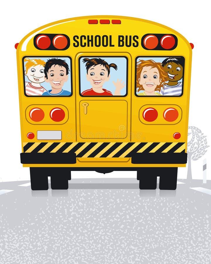 σχολείο διαδρόμων κίτριν&omi απεικόνιση αποθεμάτων