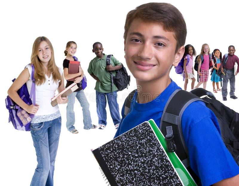 σχολείο κατσικιών ποικιλομορφίας στοκ εικόνες με δικαίωμα ελεύθερης χρήσης