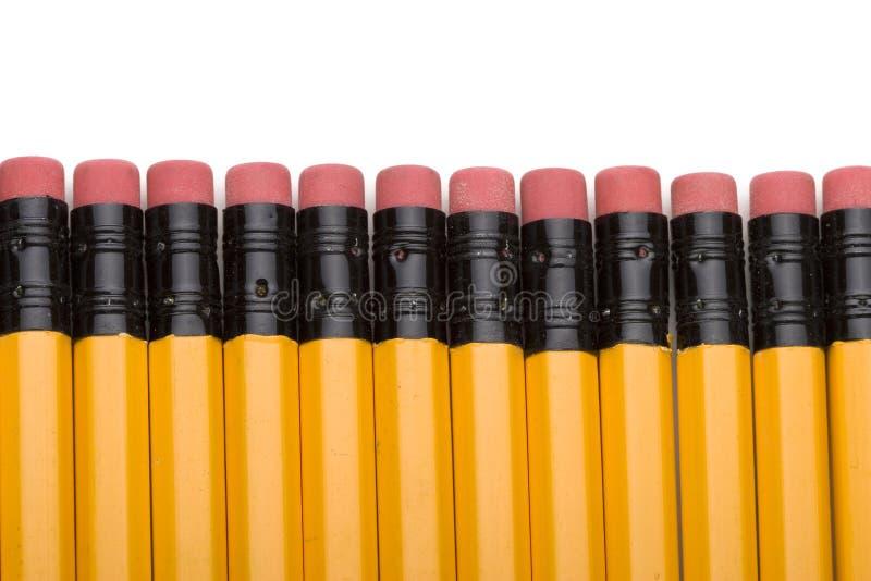 σχολείο μολυβιών στοκ εικόνα