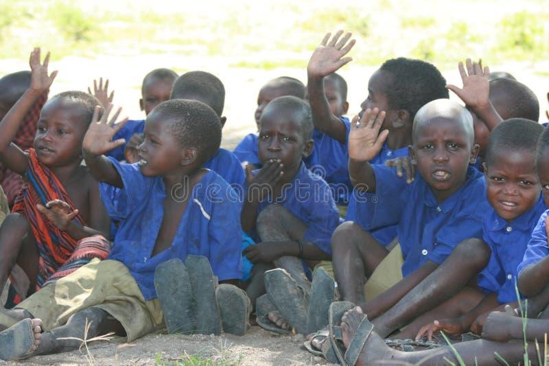 σχολείο Τανζανία παιδιών &ta στοκ φωτογραφίες