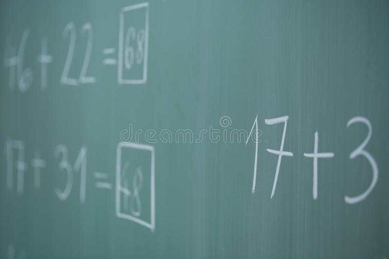 σχολείο χαρτονιών στοκ εικόνα με δικαίωμα ελεύθερης χρήσης