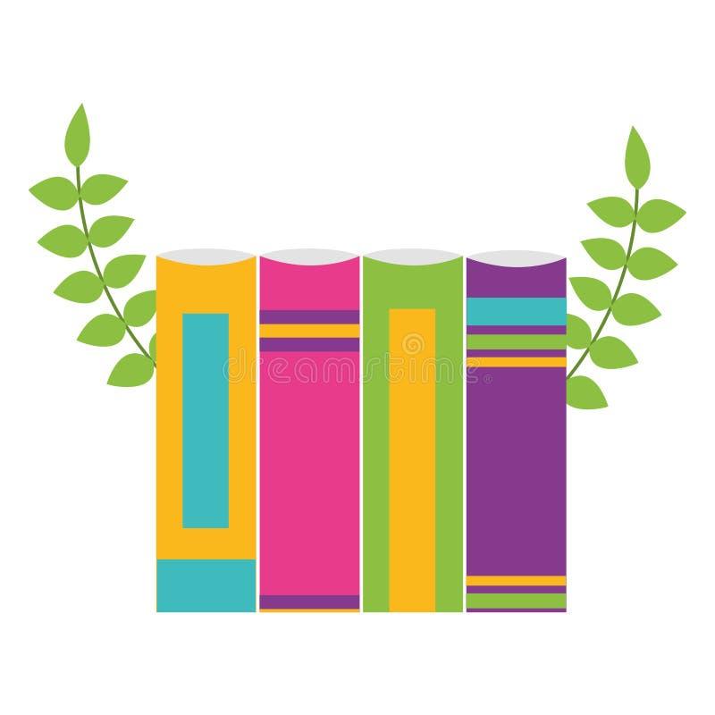 Σχολικές προμήθειες βιβλίων ελεύθερη απεικόνιση δικαιώματος