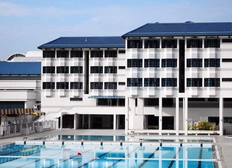 σχολική κολύμβηση λιμνών &epsi στοκ φωτογραφία με δικαίωμα ελεύθερης χρήσης