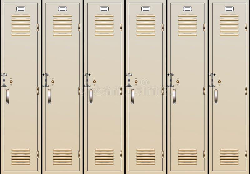 σχολικό διάνυσμα ντουλ&alph απεικόνιση αποθεμάτων