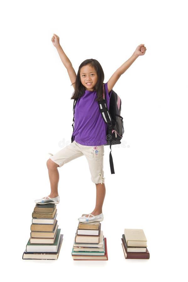 Σχολικό κορίτσι στοκ εικόνες