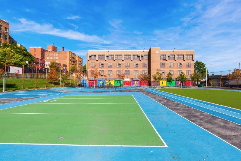 Σχολείο στο Bronx, πόλη της Νέας Υόρκης στοκ εικόνα με δικαίωμα ελεύθερης χρήσης
