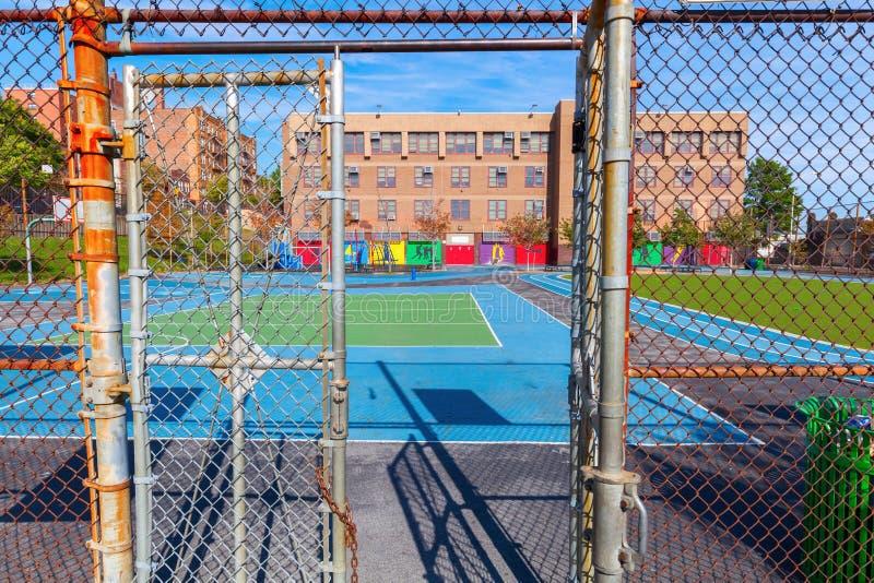 Σχολείο στο Bronx, πόλη της Νέας Υόρκης στοκ φωτογραφίες