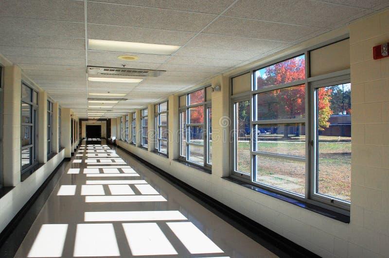 Σχολικός διάδρομος στοκ εικόνα με δικαίωμα ελεύθερης χρήσης