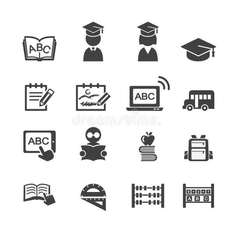 Σχολικό εικονίδιο διανυσματική απεικόνιση