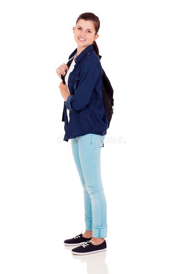 Σχολικό κορίτσι εφήβων στοκ εικόνα