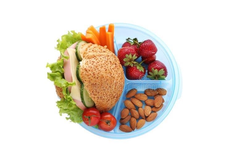 Σχολικό μεσημεριανό γεύμα στοκ φωτογραφίες με δικαίωμα ελεύθερης χρήσης