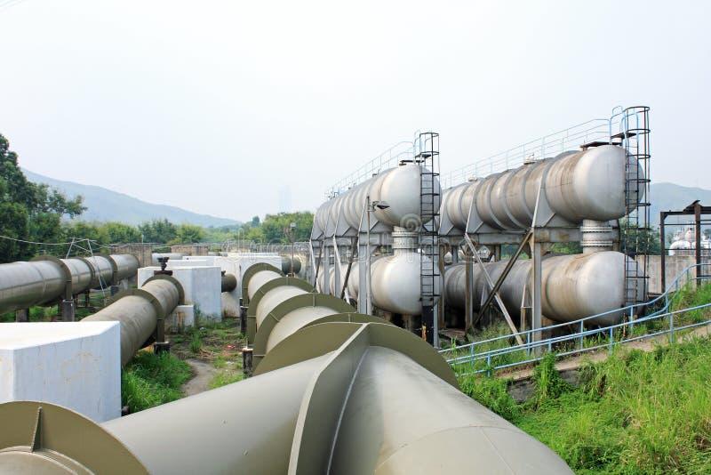 σωλήνας γραμμών αερίου στοκ φωτογραφία με δικαίωμα ελεύθερης χρήσης