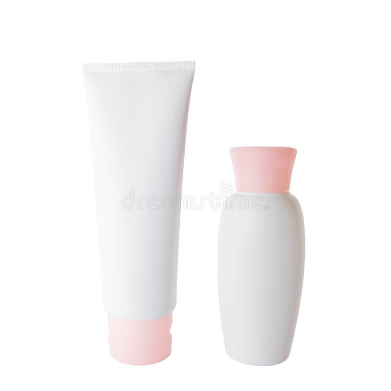 σωλήνας κρέμας μπουκαλι στοκ εικόνες με δικαίωμα ελεύθερης χρήσης