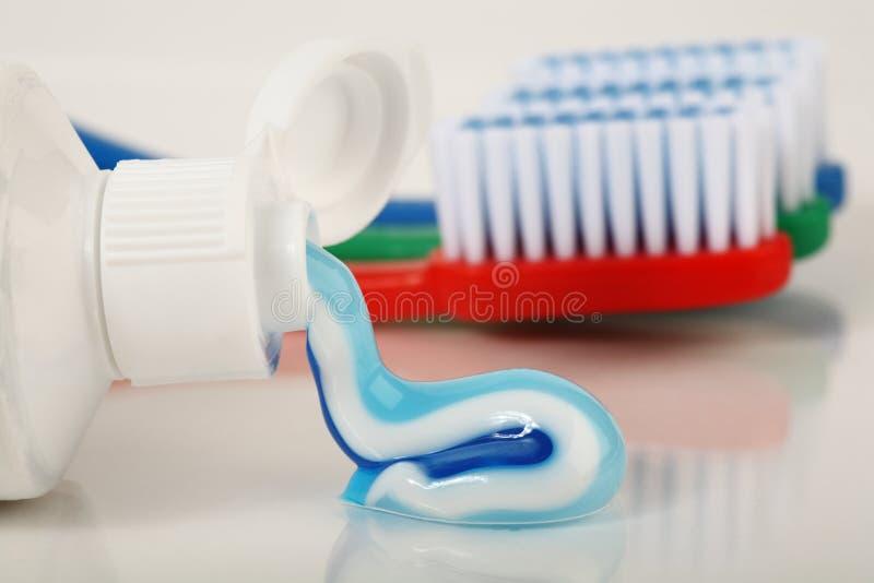 σωλήνας οδοντόπαστας στοκ εικόνες