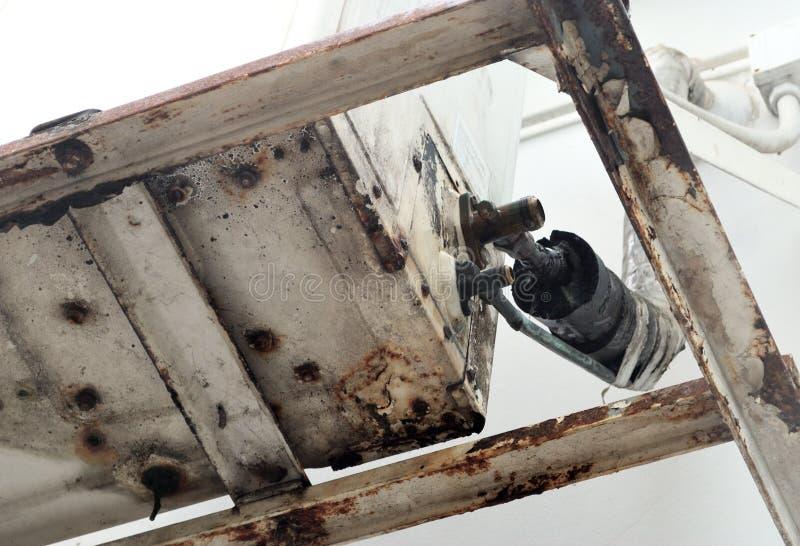 Σωλήνας ορείχαλκου στοκ φωτογραφίες