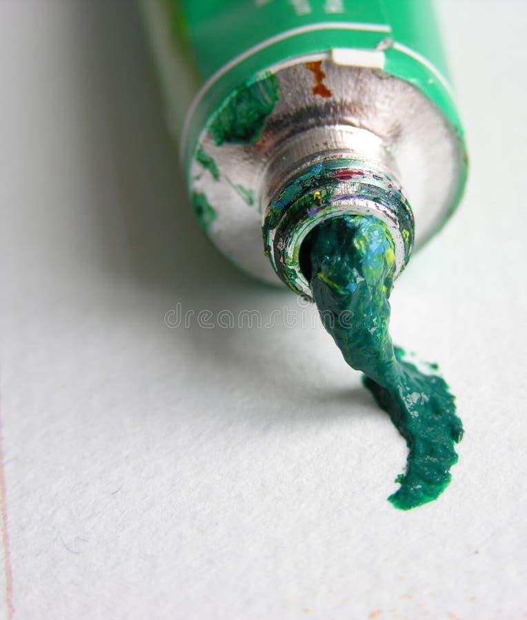 σωλήνας χρώματος στοκ φωτογραφία με δικαίωμα ελεύθερης χρήσης