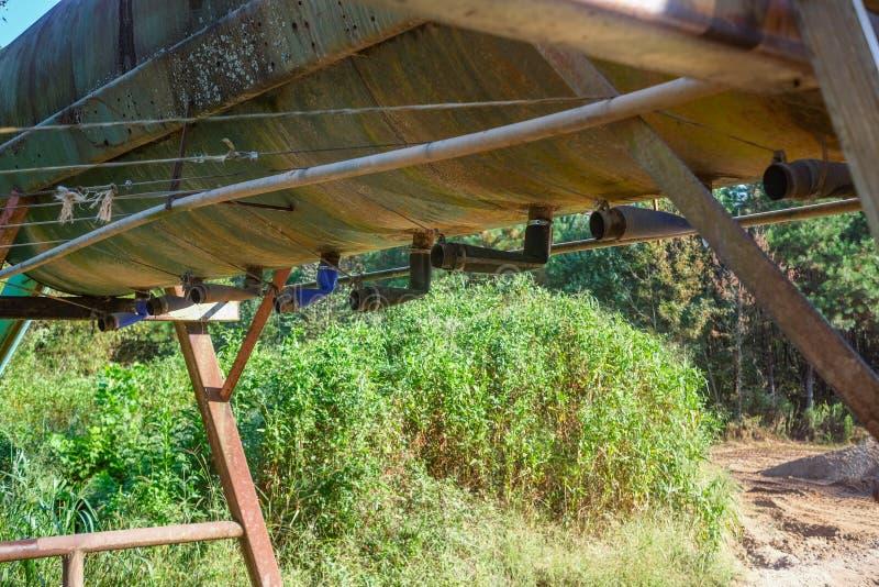 Σωλήνες αποστράγγισης στο Ντρέντγκερ στοκ φωτογραφία με δικαίωμα ελεύθερης χρήσης