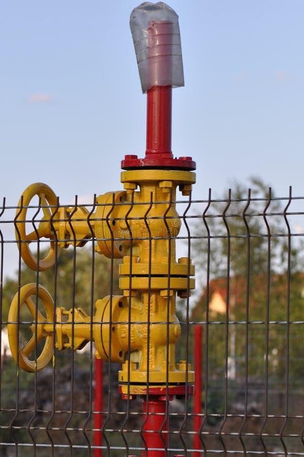 Σωλήνες φυσικού αερίου στοκ εικόνες