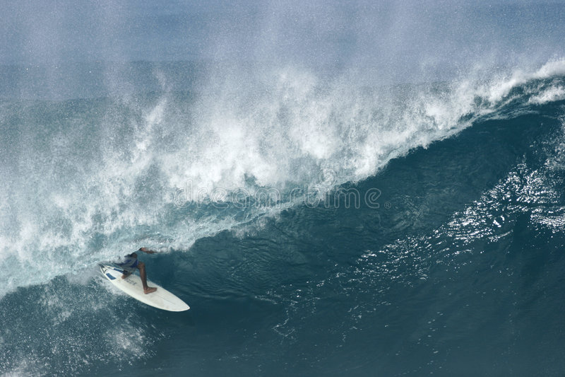 σωλήνωση banzai surfer στοκ εικόνες