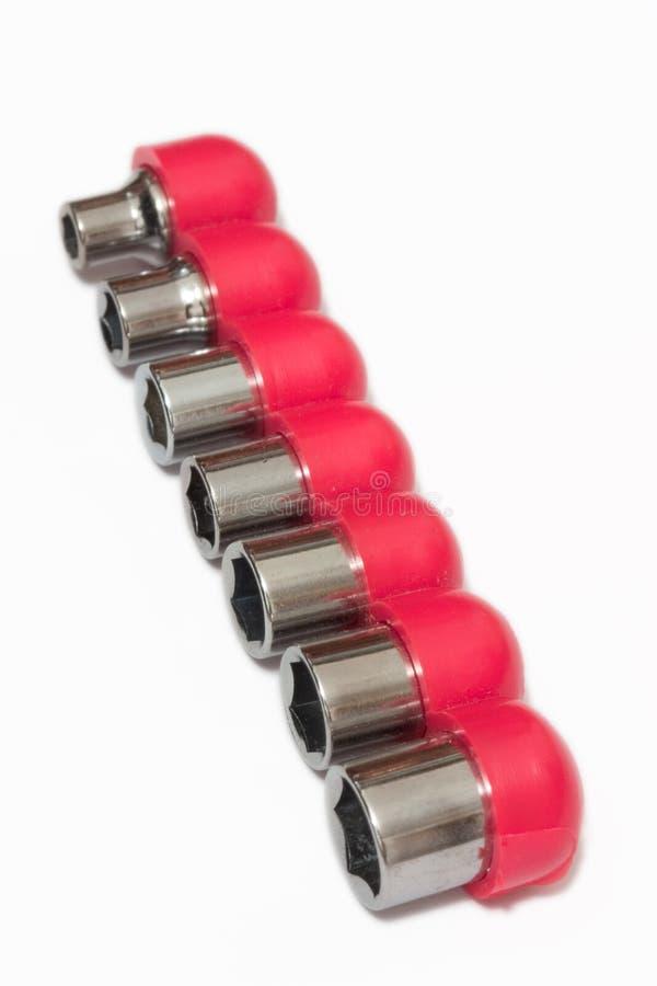 σωληνοειδές γαλλικό κλειδί κεφαλιών στοκ φωτογραφία με δικαίωμα ελεύθερης χρήσης