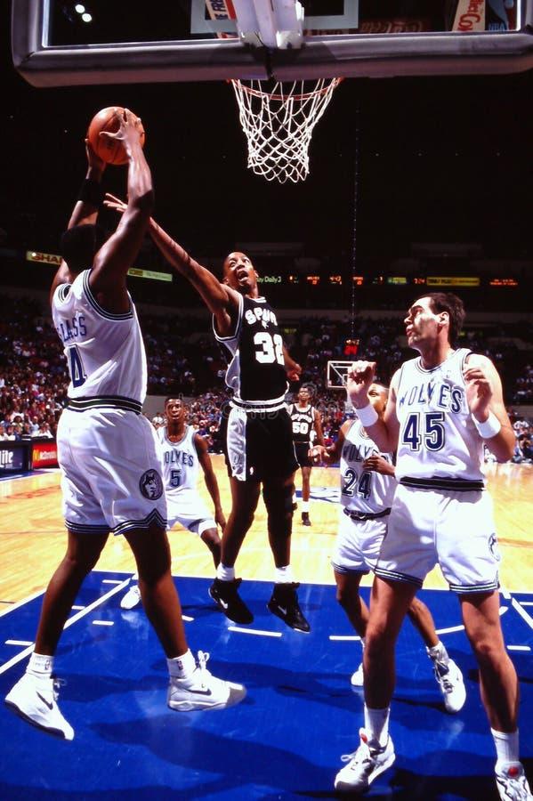 Σων Elliott, San Antonio Spurs στοκ εικόνες