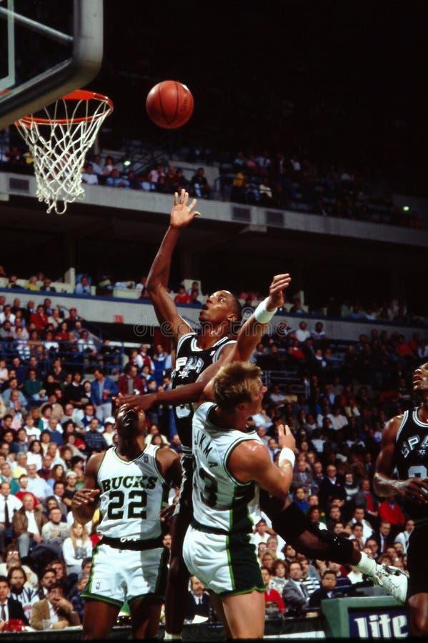 Σων Elliott, San Antonio Spurs στοκ εικόνα με δικαίωμα ελεύθερης χρήσης