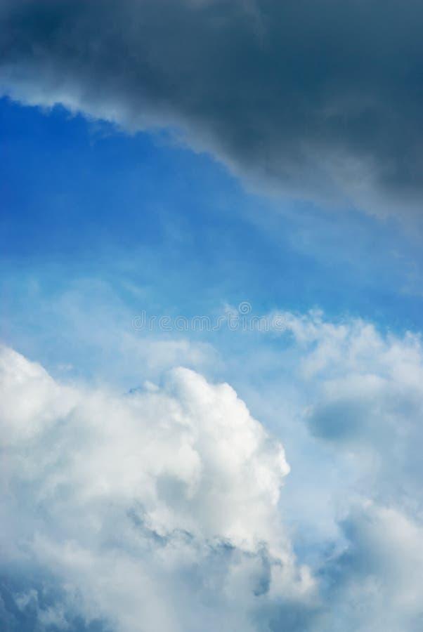 σωρείτης σύννεφων θυελλώδης στοκ εικόνα