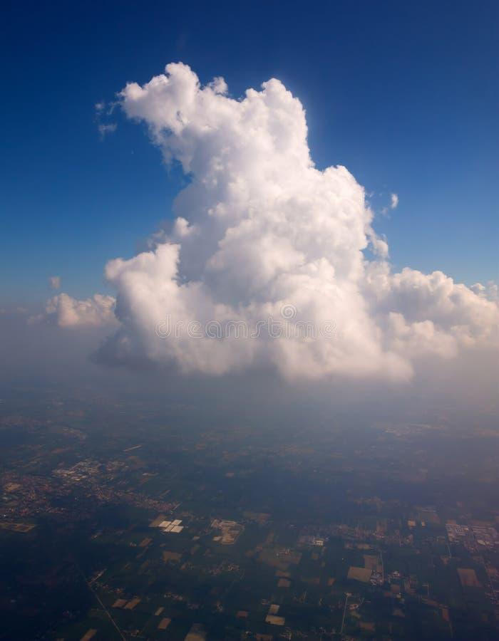 σωρείτης σύννεφων στοκ φωτογραφία