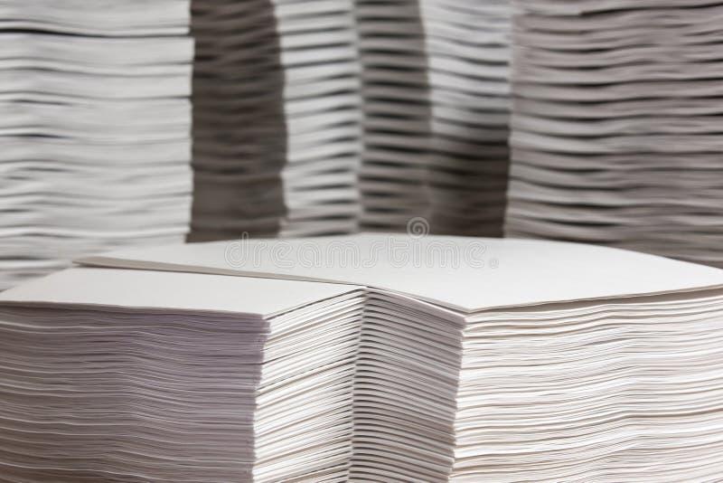 Σωροί του εγγράφου στοκ εικόνες